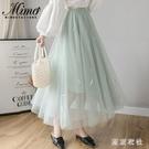 夏季顯瘦半身裙子 仙女超仙森系女夏裝2020年新款夏天顯高氣質長裙 JX1522『東京衣社』