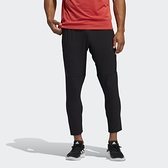 ADIDAS AEROREADY 男款黑色錐形健身運動長褲-NO.FJ6134