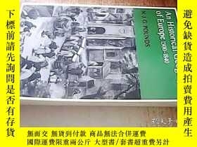 二手書博民逛書店AN罕見HISTORICAL GEOGRAPHY OF EURO