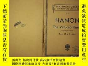 二手書博民逛書店HANON:The罕見Virtuoso Pianist;In S