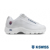 K-SWISS ST329 Nylon老爹鞋-女-白/灰
