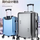 鋁框拉桿箱男20萬向輪行李箱女24密碼旅行箱學生大容量登機皮箱子 可然精品