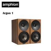 【竹北勝豐群音響】amphion Argon 1 書架型喇叭(木紋) 實用主義的設計風格