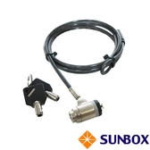 台製 K孔鑰匙型 筆電鎖(TL623M) SUNBOX