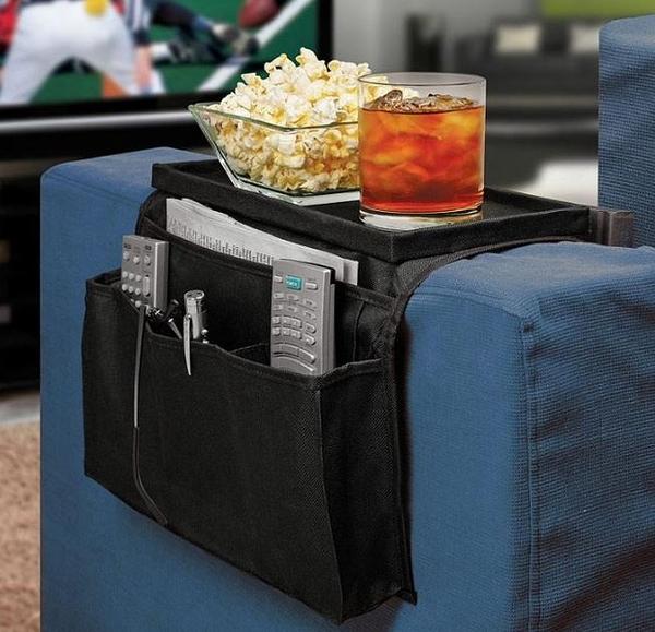 ARM REST ORGANIZER 沙發邊掛袋TV沙發收納袋多層多格收納 99元