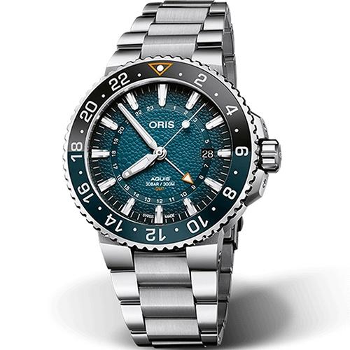 Oris豪利時 Aquis WHALE SHARK 鯨鯊限量腕錶 0179877544175-Set