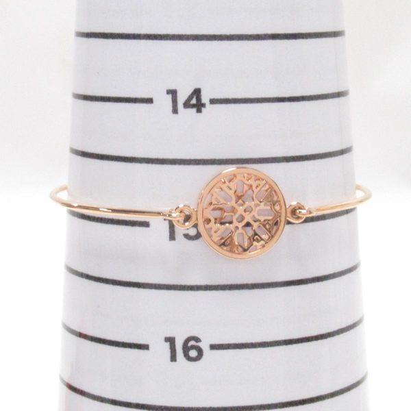 HERMES 愛馬仕 玫瑰金雪花造型手環 K18PG Collier de Chien Rock 【BRAND OFF】