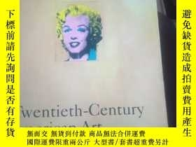 二手書博民逛書店Twentieth-Centuty罕見American ArtY