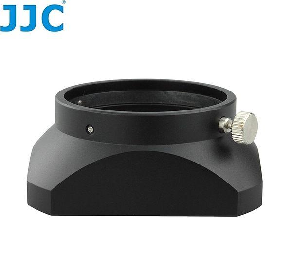 我愛買#JJC副廠Olympus金屬遮光罩LH-48遮光罩(黑色)可倒裝LH-48遮陽罩適M.ZD ED 12mm 1:2.0