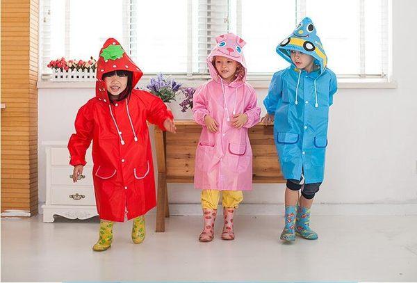 雨衣兒童寶寶連體雨衣卡通造型雨具便攜雨披學生郊游戶外防雨工具帶帽   提拉米蘇