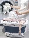 收纳篮 臟衣服玩具收納筐神器家用可折疊臟衣籃浴室洗衣裝衣的籃子臟衣簍【快速出貨八折搶購】