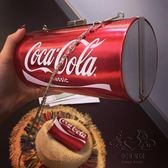 新品可口可樂包易拉罐個性鍊條肩背斜背包手拿包迷你小包包【1件免運】