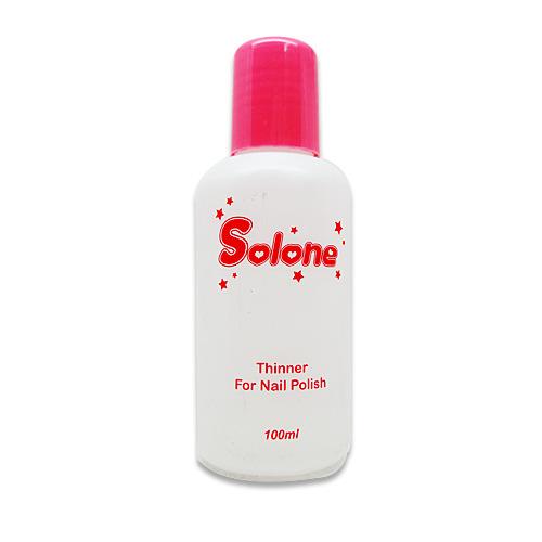 Solone 指甲彩繪 指甲油專用調合劑 100ML【UR8D】