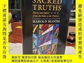 二手書博民逛書店Ruin罕見the Sacred Truths: Poetry and Belief from the Bible