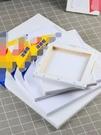 手繪布面空白油畫板初學者練習