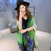 雪紡絲巾-高雅時尚羽毛鏈條女披肩3色73hw12[時尚巴黎]