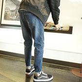 【618好康鉅惠】2018春季新款牛仔褲男修身男士小腳牛仔褲