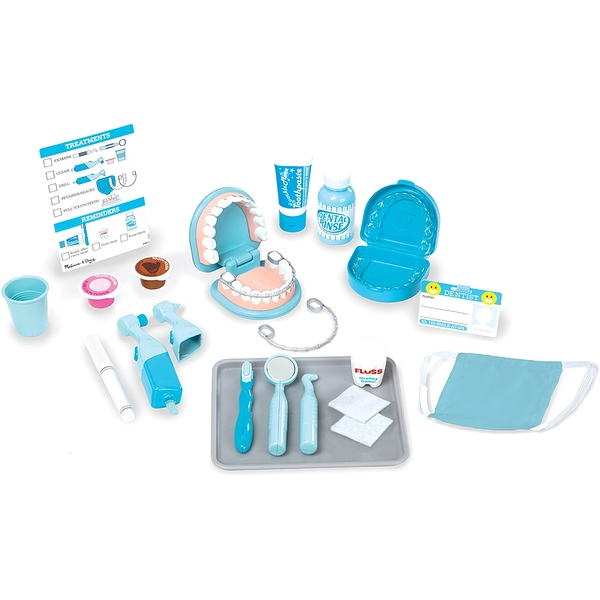 《 美國 Melissa & Doug 》美國瑪莉莎 角色扮演-小醫生牙科遊戲組 / JOYBUS玩具百貨