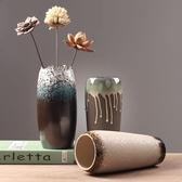 花瓶 創意水培水養鮮花干花富貴竹插花花瓶器皿客廳餐桌辦公裝飾品擺件 ATF poly girl