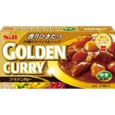 【美佐子MISAKO】日韓食材系列-S&B Golden Curry ゴールデンカレー 咖哩(金)-中辛 198g