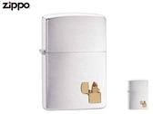 【寧寧精品】Zippo 原廠授權台中30年旗艦店 終身保固 防風打火機 鍍鉻拉絲 Zippo 經典款 4305-1