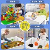 樂高兒童玩具拼裝積木帶桌子男女孩寶寶益智大顆粒大號【奇妙商舖】