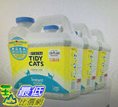 [COSCO代購]  W115777 Tidy Cats 高效清香凝結罐裝貓砂 6.35公斤 X 3罐