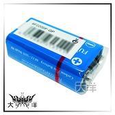 ◤大洋國際電子◢ FUJITSU 富士通 9V 碳鋅電池 (1顆裝) 6F22 F-GP