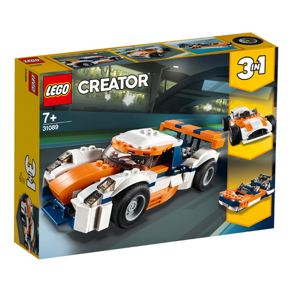 LEGO樂高 創意百變系列 31089 日落賽車 積木 玩具