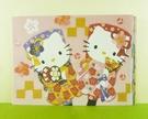 【震撼精品百貨】Hello Kitty 凱蒂貓~卡片-12入和風