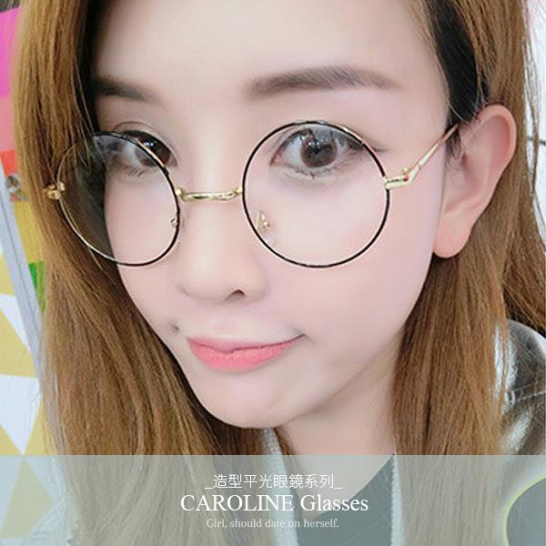 《Caroline》年度最新款平光鏡 迷人風采 氣質時尚平光眼鏡 71456
