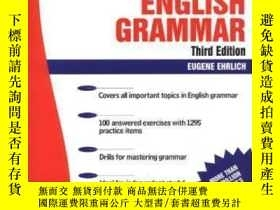 二手書博民逛書店Schaum s罕見Outline Of English GrammarY307751 Eugene H. E