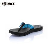 SOURCE 男夾腳拖鞋Djibouti 104011TB【寶藍】/ 城市綠洲(織帶、輕量、快乾、抑菌、人字拖)