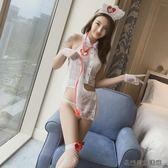 高端護士服性感情趣內衣透視短裙