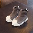 兒童鞋 女童靴子2019新款兒童高筒短靴男童馬丁靴寶寶加絨皮靴1-3歲【全館免運】