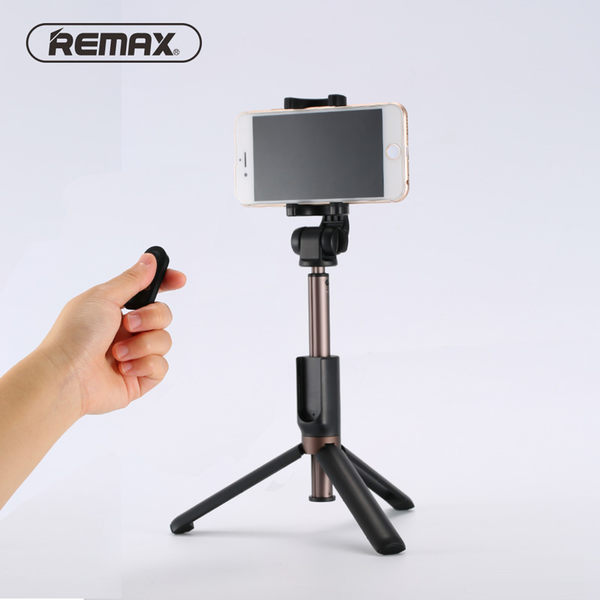 REMAX P9 三腳架 藍牙 自拍杆 無線連接 直播 伸縮桿 手機支架 撐桿棍 通用