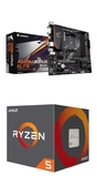 (C+M)技嘉 A520M AORUS ELITE + AMD R5 3600【6核/12緒】【刷卡含稅價】