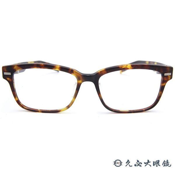 999.9 日本神級眼鏡 NP36 (琥珀) 方框 眼鏡 久必大眼鏡