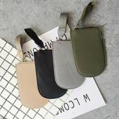 韓版 鑰匙扣PU手提  口袋型 小包包 零錢包【庫奇小舖】
