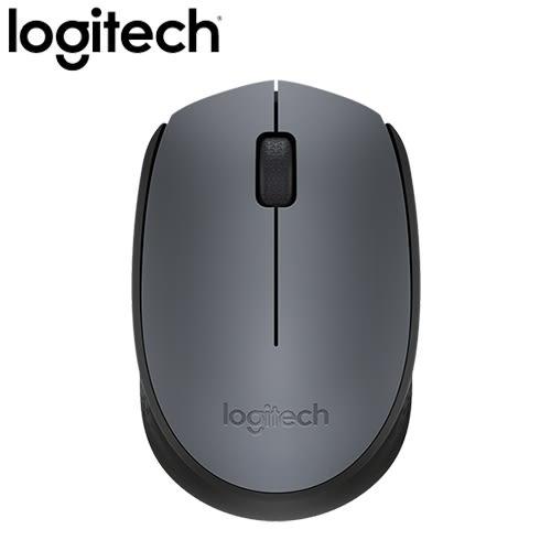 Logitech 羅技 M171 2.4G 無線滑鼠 灰【無線滑鼠免300元】