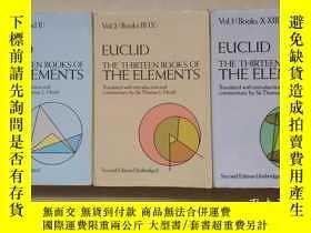 二手書博民逛書店Thirteen罕見Books of Euclid s Elem