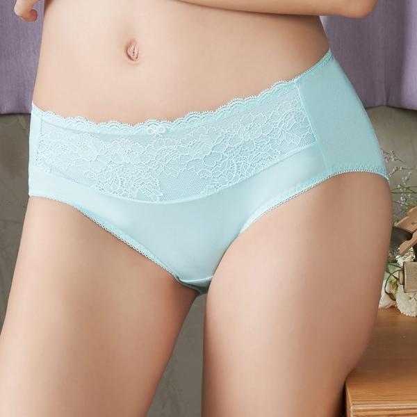 EASY SHOP-純愛美學 中腰平口褲(清淨藍)