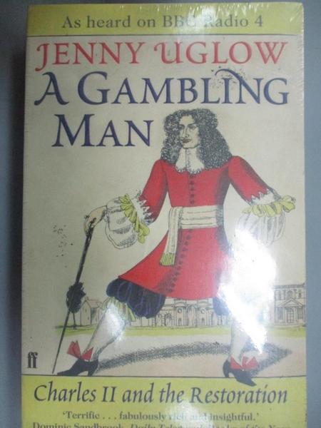 【書寶二手書T8/歷史_GP6】A Gambling Man_Jenny Uglow