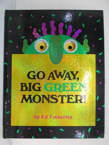 【書寶二手書T4/少年童書_KJ7】Go away, big green monster!_Emberley, Ed