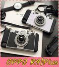 【萌萌噠】歐珀 OPPO R9 / R9Plus  韓國微單3D立體相機保護殼 全包矽膠底層手機殼 手機套 掛繩
