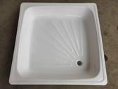 【麗室衛浴】 鋼板琺瑯 淋浴底盆  90*90CM  高度含排水19CM  出清 只有2只