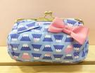 【震撼精品百貨】Hello Kitty 凱蒂貓~Hello Kitty日本SANRIO三麗鷗KITTY化妝包/筆袋-珠釦富士山*24691