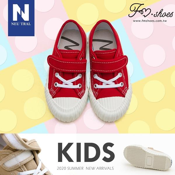 休閒鞋.奶茶色防潑水餅乾鞋(紅)-KID-FM時尚美鞋-NeuTral.Refresh