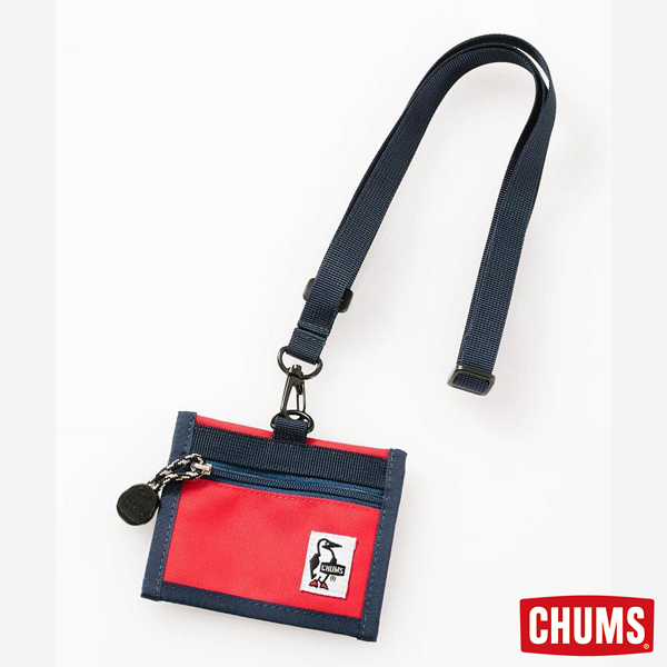 CHUMS Eco ID Card Holder 證件帶 紅 CH602488R001【GO WILD】
