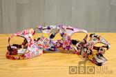 ★OBO CLUB HOUSE☆  AZERIA 日本布時尚胸背帶 S 和風四色